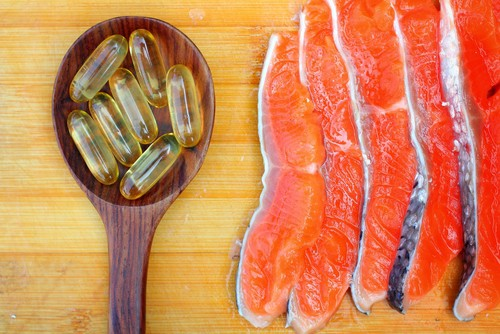 Salmon and fish oil