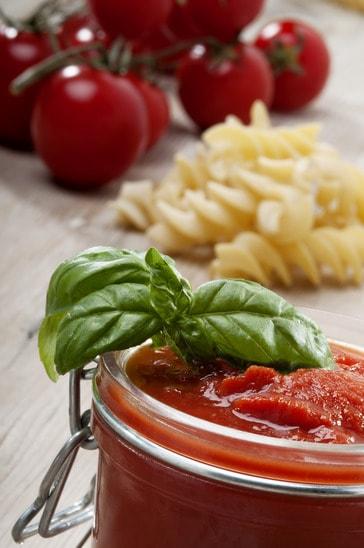 Sauce tomato for mediterranean diet