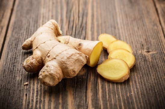 Sliced Ginger