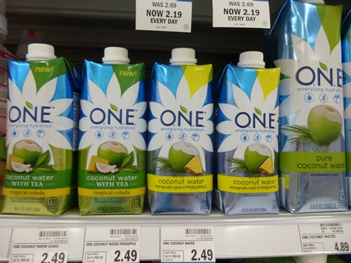 One coconut water
