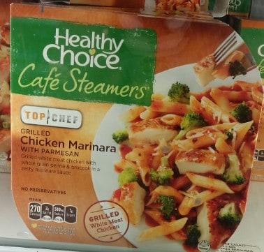 Healthy Choice dinner