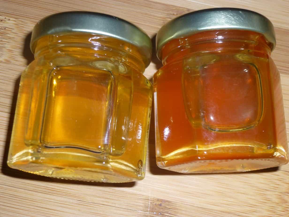 Types of raw honey