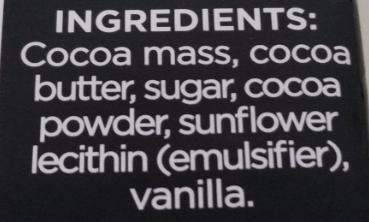 Divine ingredients list