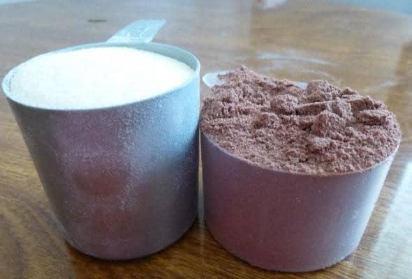 Comparison of protein powders