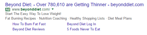 Beyond Diet in Google