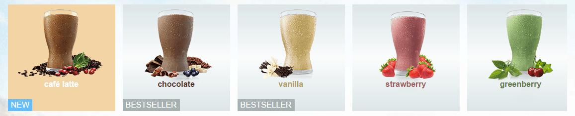 Flavor selection