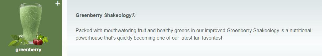 Greenberry flavor