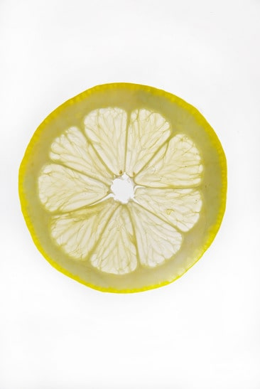 Detail of a Lemon Slice