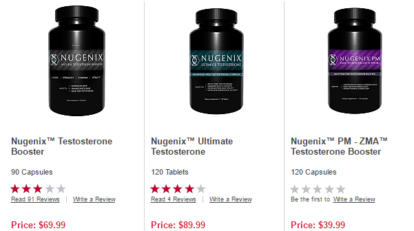 Nugenix Prices