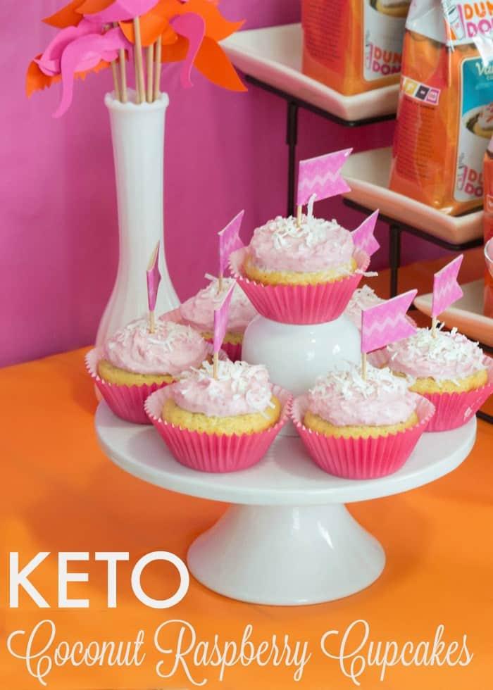 Coconut Raspberry Cupcakes