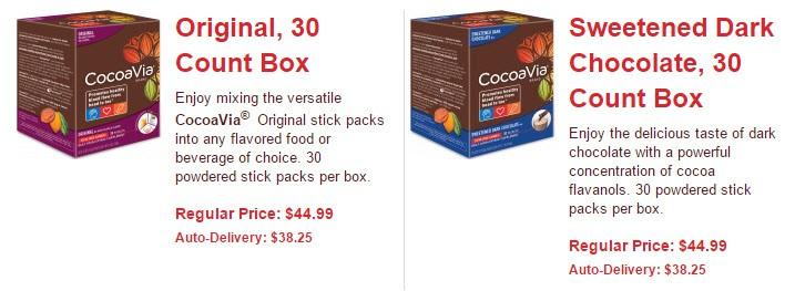 Cocoa boxes