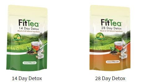 Fit Tea types