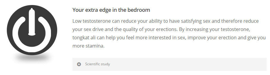 Edge in the bedroom