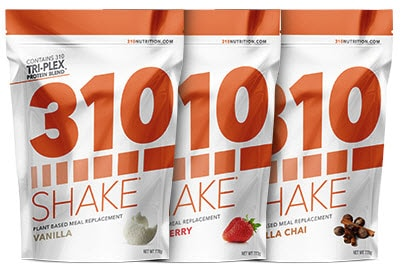 310 Nutrition shakes