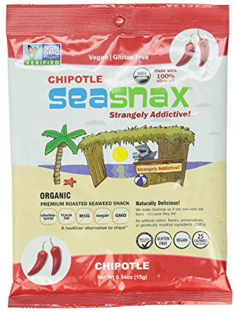 Seasnax Roasted Seaweed
