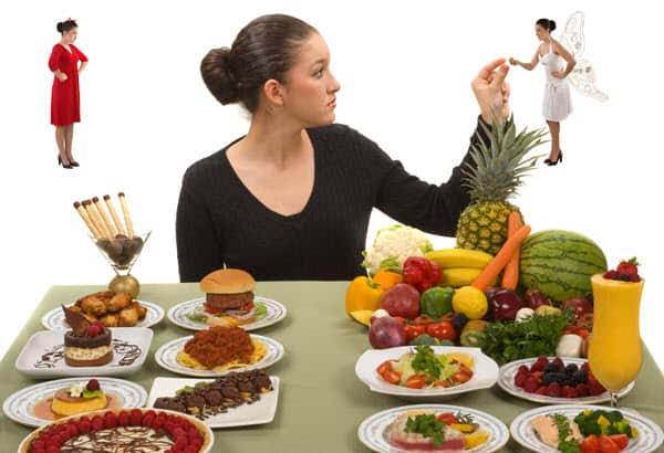 Making a healthy food choice