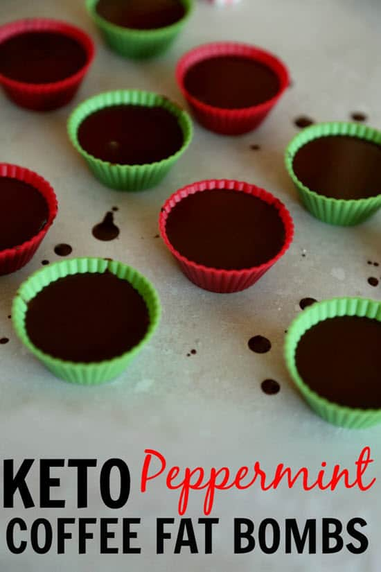 Peppermint Coffee Fat Bombs