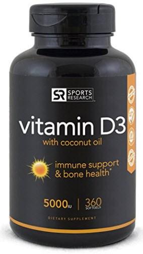 Sports Research Vitamin D3