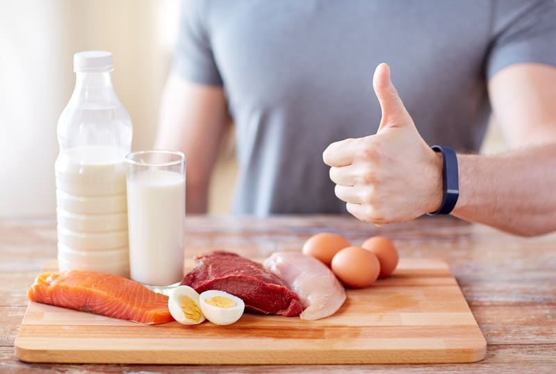 Ketosis diet concept