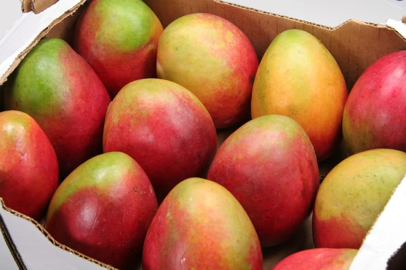 Box of mangos