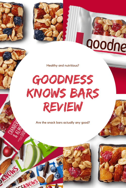 Goodness Knows Bars Review