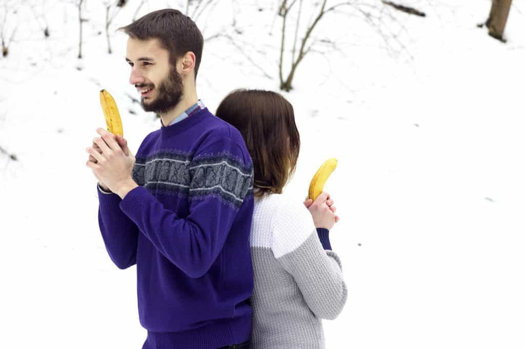 Couple with Bananas