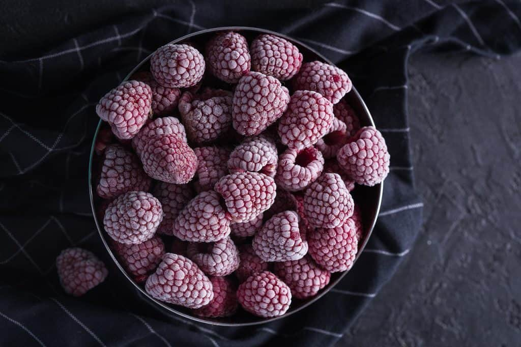 Frozen Raspberries