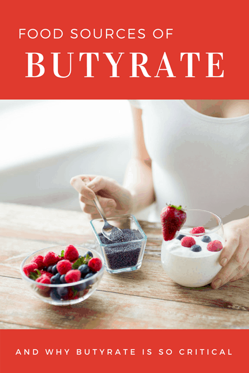 Food Sources of Butyrate