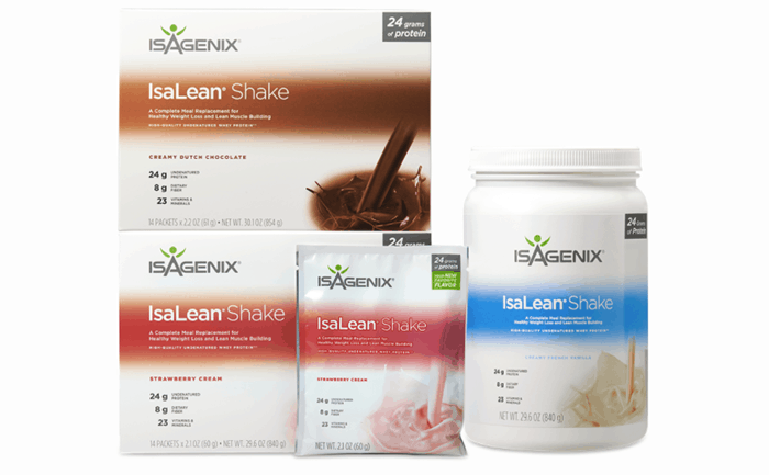 IsaLean Shake Selection