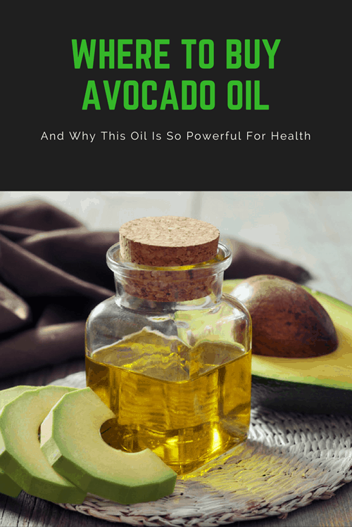 Where to Buy Avocado Oil