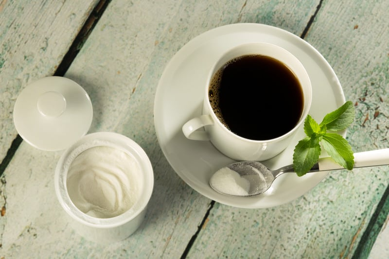 Stevia and coffee