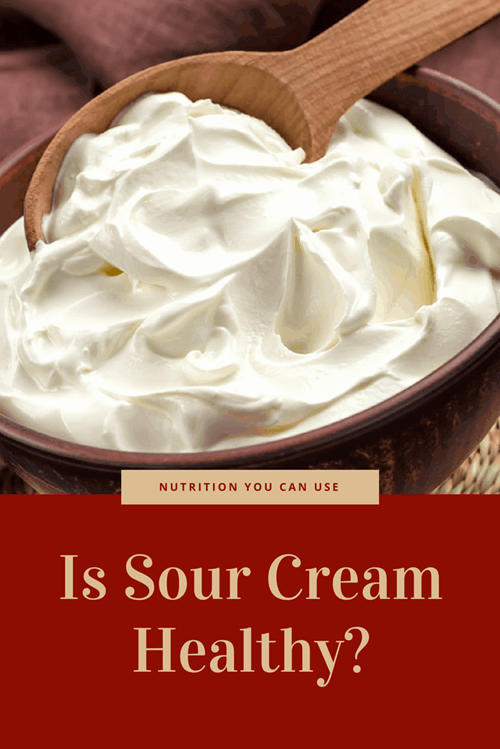 is sour cream good for low fat diet