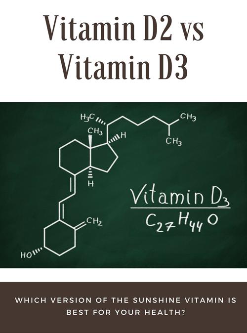 Vitamin D2 vs D3
