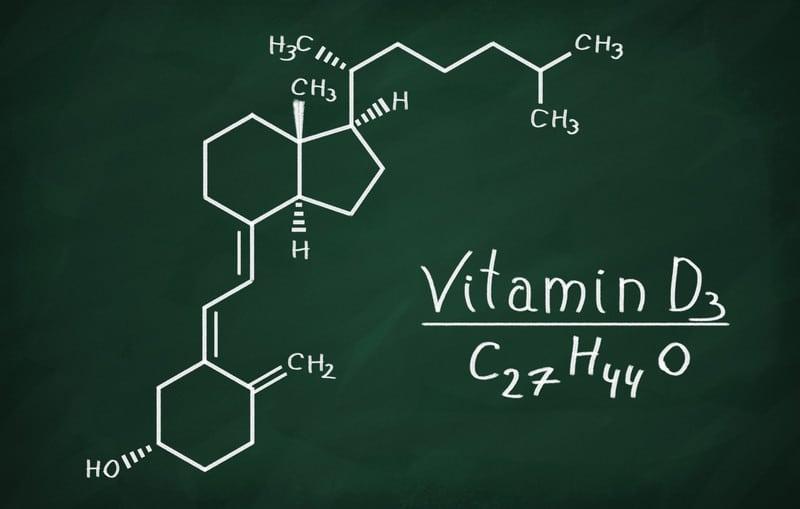 Vitamin D3 structure