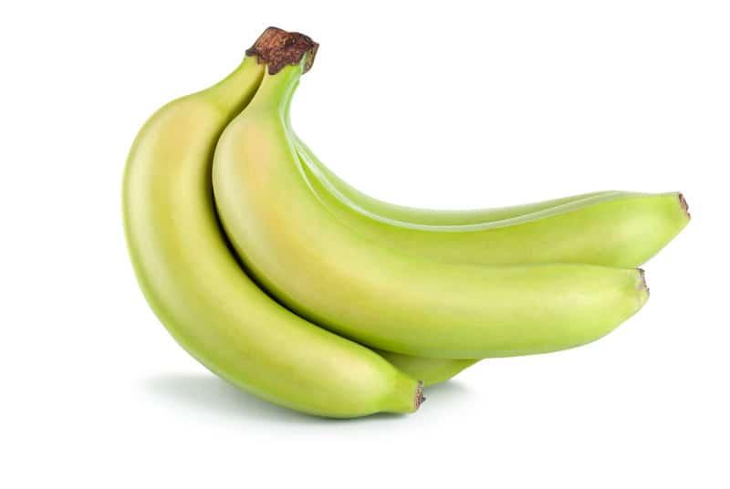 Green bananas for prebiotics