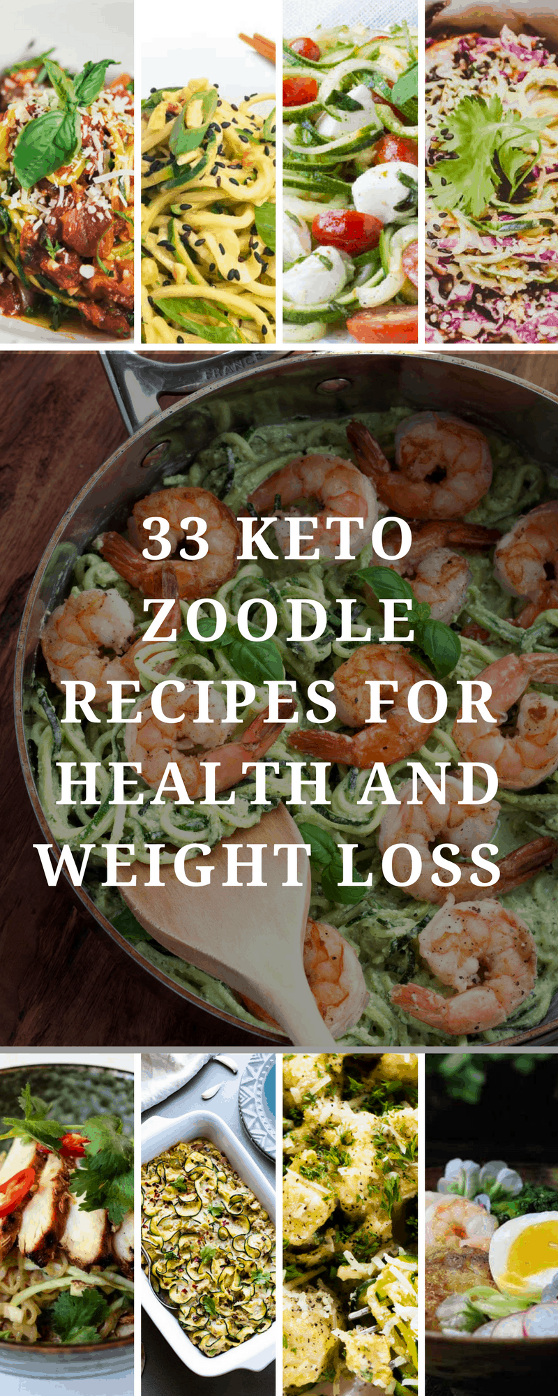 Keto Zoodle Recipes
