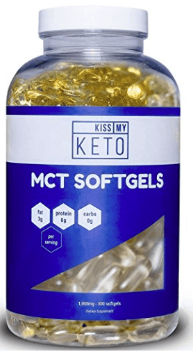Kiss My Keto MCT Softgels