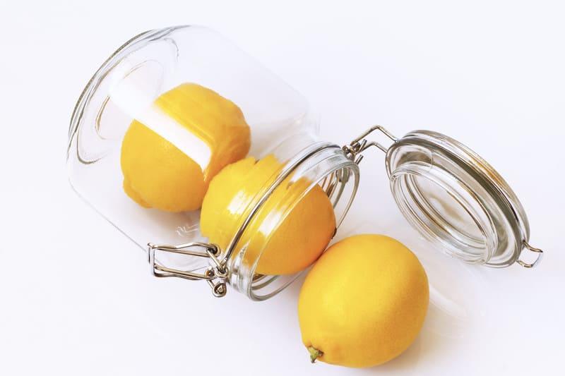 Lemons in a jar