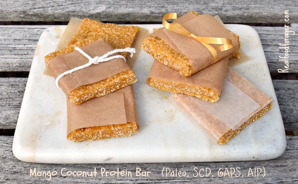 Mango Coconut Protein Bar