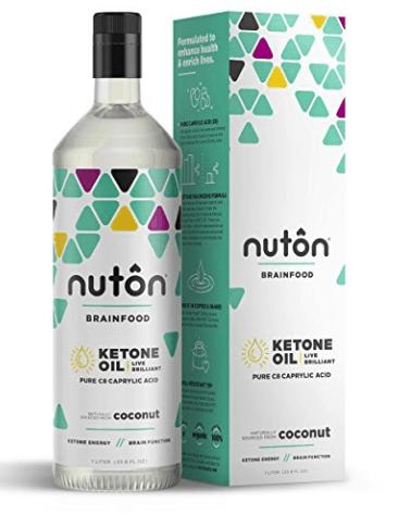 Nuton Brainfood Ketone Oil