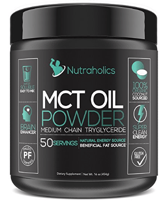 Nutraholics MCT Oil Powder