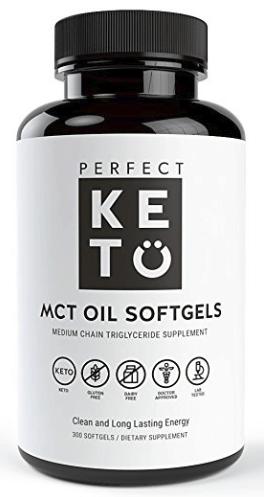 Perfect Keto MCT Oil Capsules
