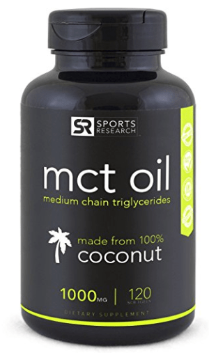 Sports Research MCT Oil Capsules