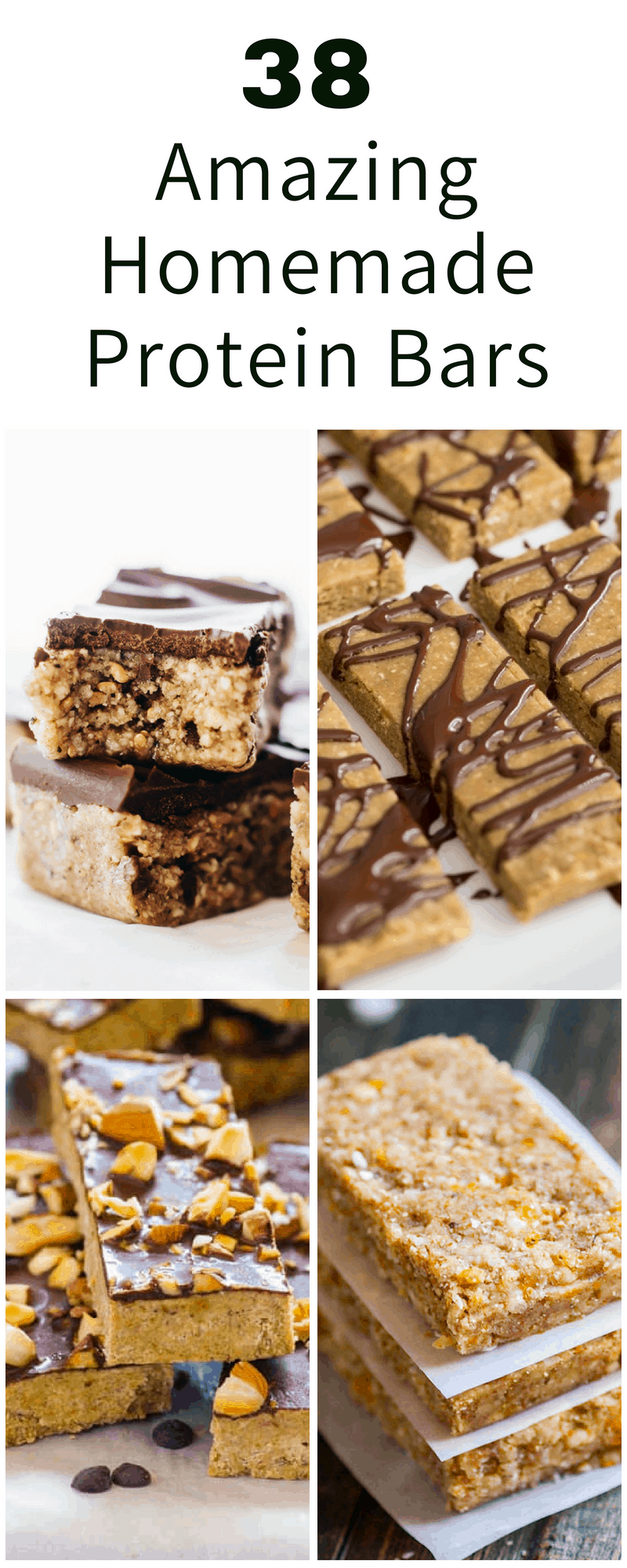 The 38 Best Homemade Protein Bars You Can Ever Make