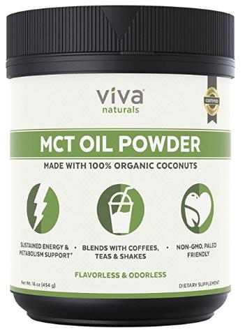Viva Naturals MCT Oil Powder