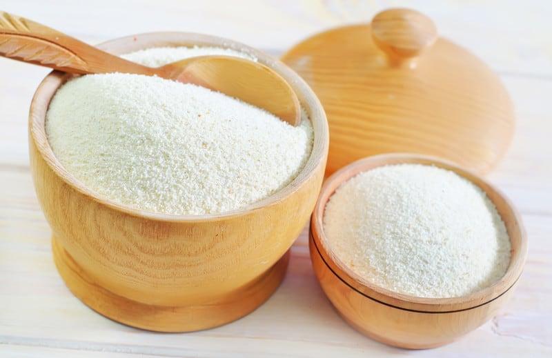 Semolina flour comparison