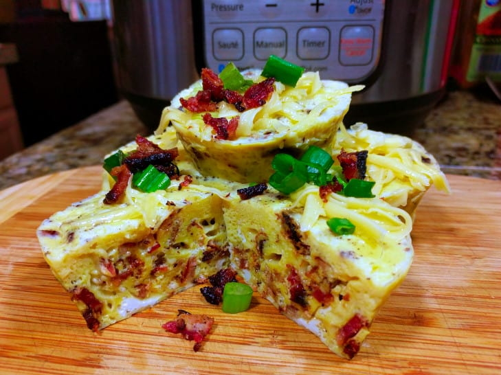 Bacon Gouda Egg Bites