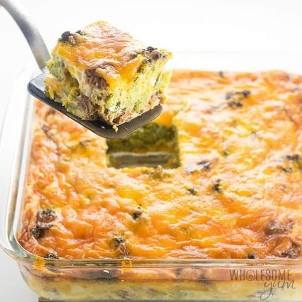 Breakfast Casserole Recipe with Sausage and Cheese