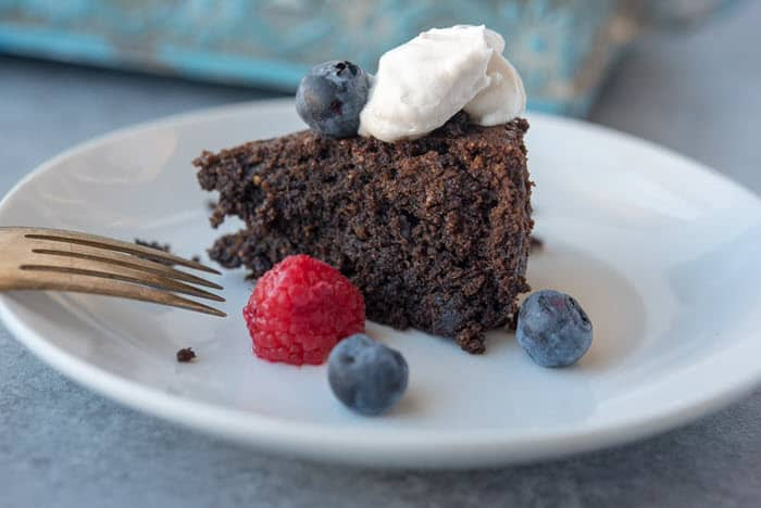 Chocolatey, Fudgy Instant Pot Cake
