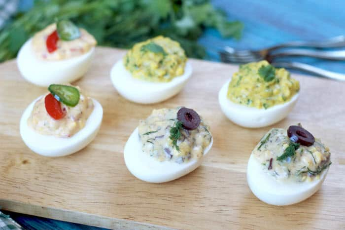 Deviled Eggs 3-Ways